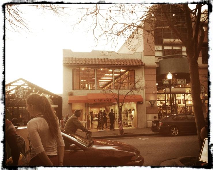 A store in Santa Cruz